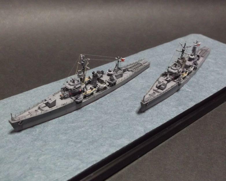 丁型(第二号型)海防艦(その4) 完成!: ふりぃだむふぁいた